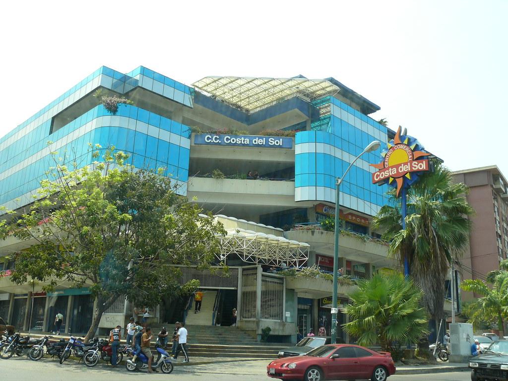 centro comercial costa del sol el caribe estado vargas