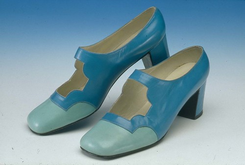Pair Of Womens Kid Leather Shoes Museum