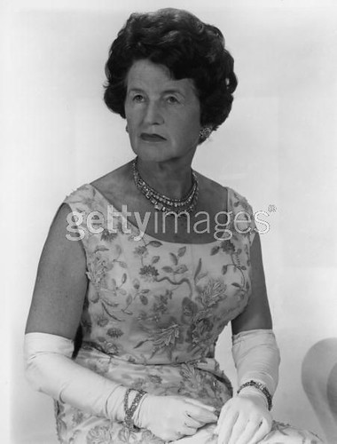 Rose Kennedy Exclusive Studio Portrait Of Rose Kennedy