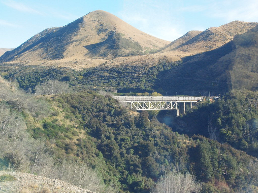 Tren Transalpino de Christchurch a Arthur`s Pass