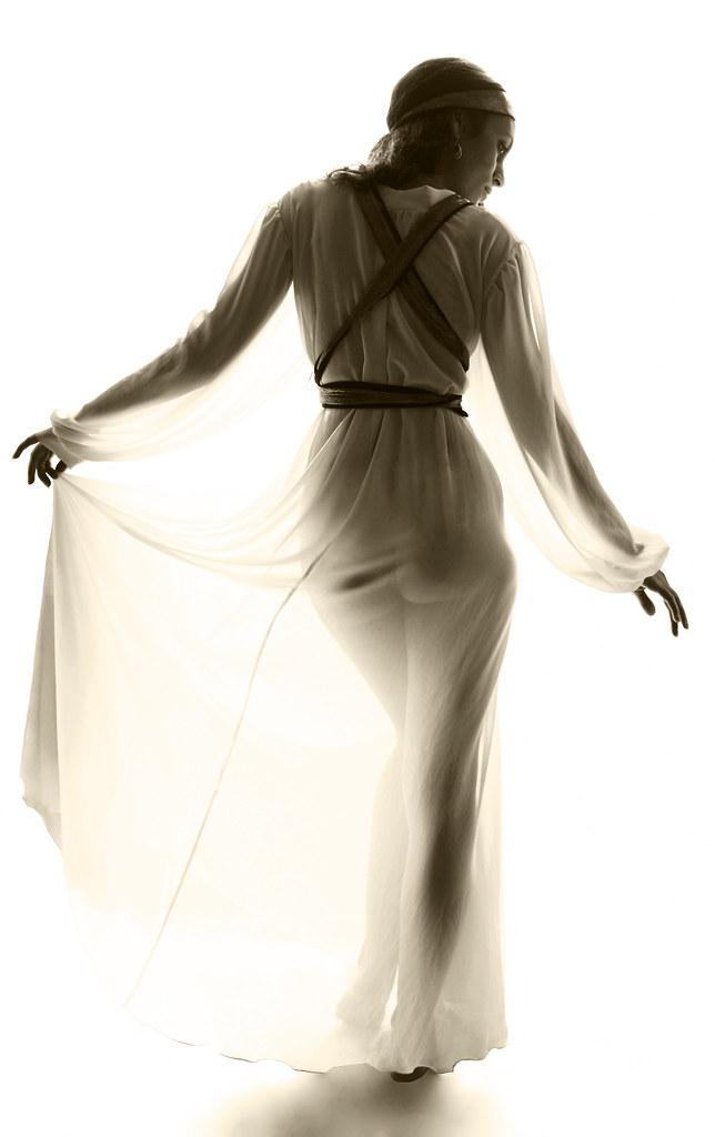 Nymph In Diaphanous Gown | The beautiful Mata-Hari-Kari in e… | Flickr