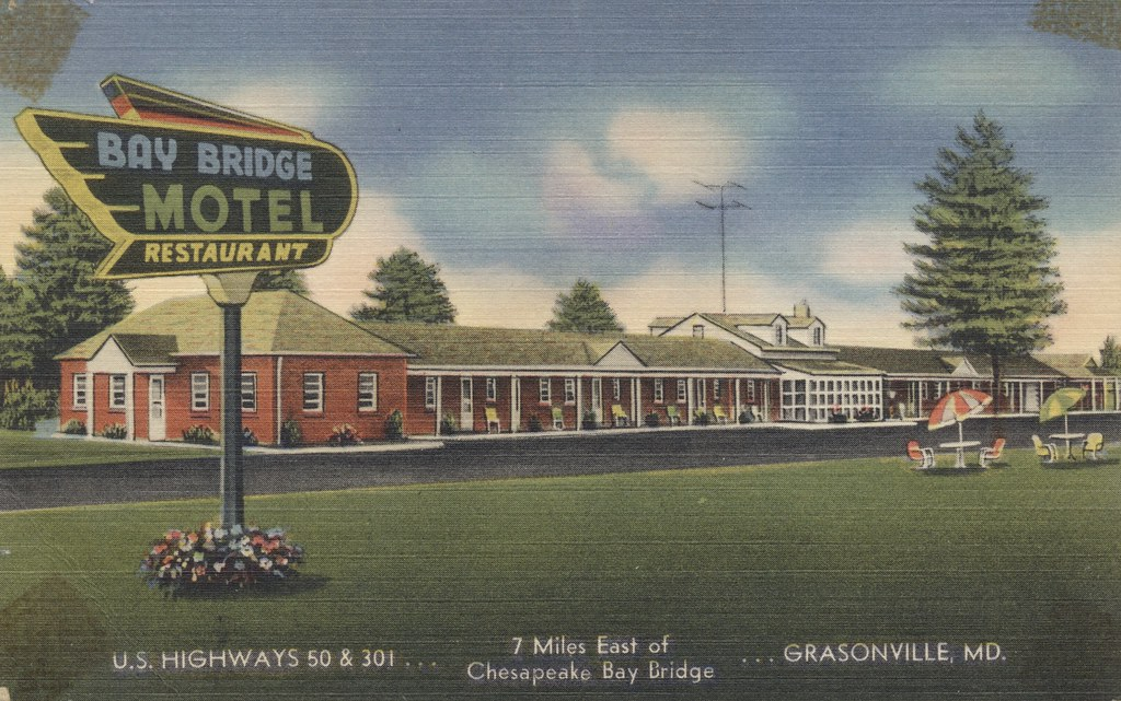 Bay Bridge Motel & Restaurant - Grasonville, Maryland
