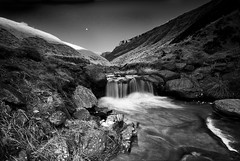Greenfield Waterfall bw | by andy_AHG