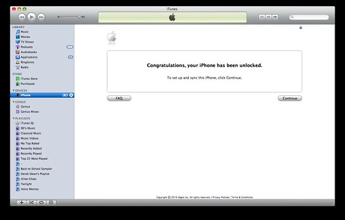 congratulations your iphone has been unlocked congratulations your iphone has been unlocked for this 5851