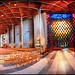 365-282 Coventry (New) Cathedral Interior Panorama, Warwickshire, England UK