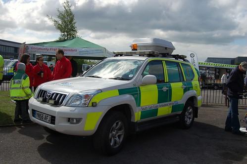 South East Coast Ambulance Toyota Land Cruiser | Taken at ...