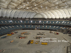 BC Place Deflation from the inside | by miss604