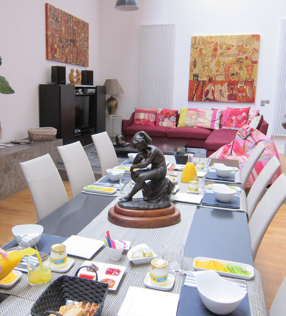 petit dejeuner at evasion loft flickr photo sharing. Black Bedroom Furniture Sets. Home Design Ideas