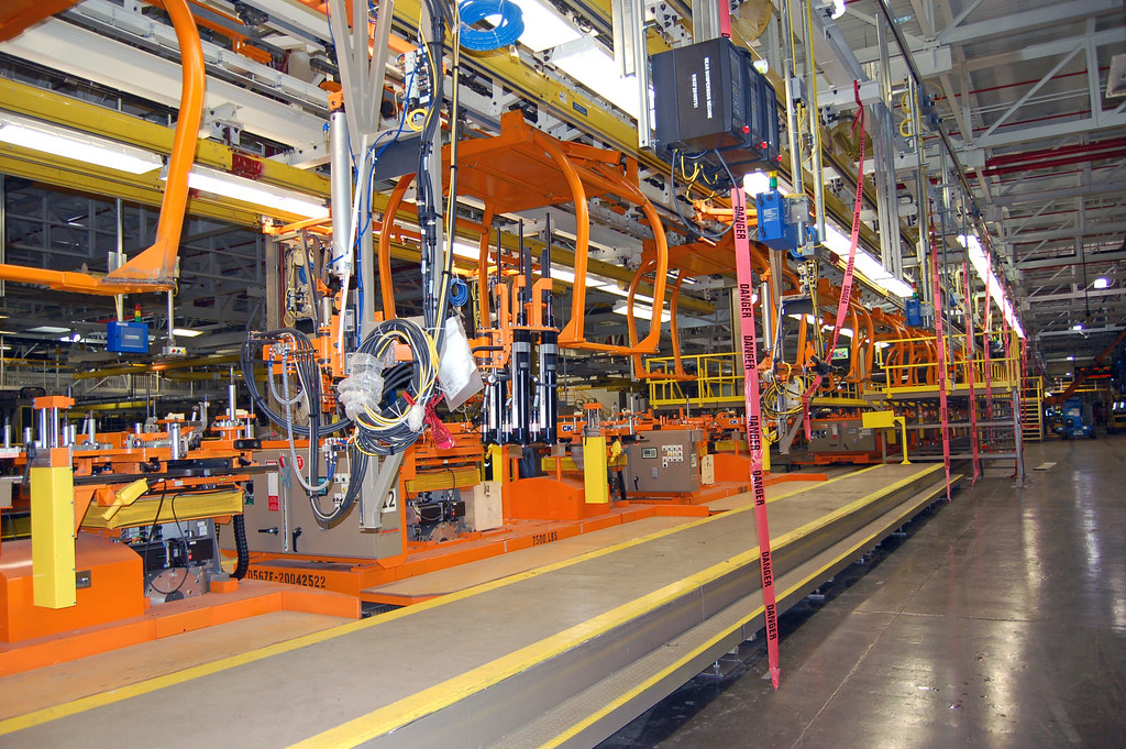 Michigan assembly plant map photos taken last week for Ford motor company wayne mi
