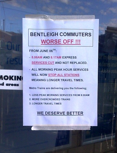 Bentleigh timetable rebellion | by Daniel Bowen