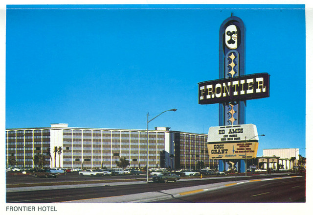 Frontier Hotel Las Vegas Postcard 1970 Sueism Flickr