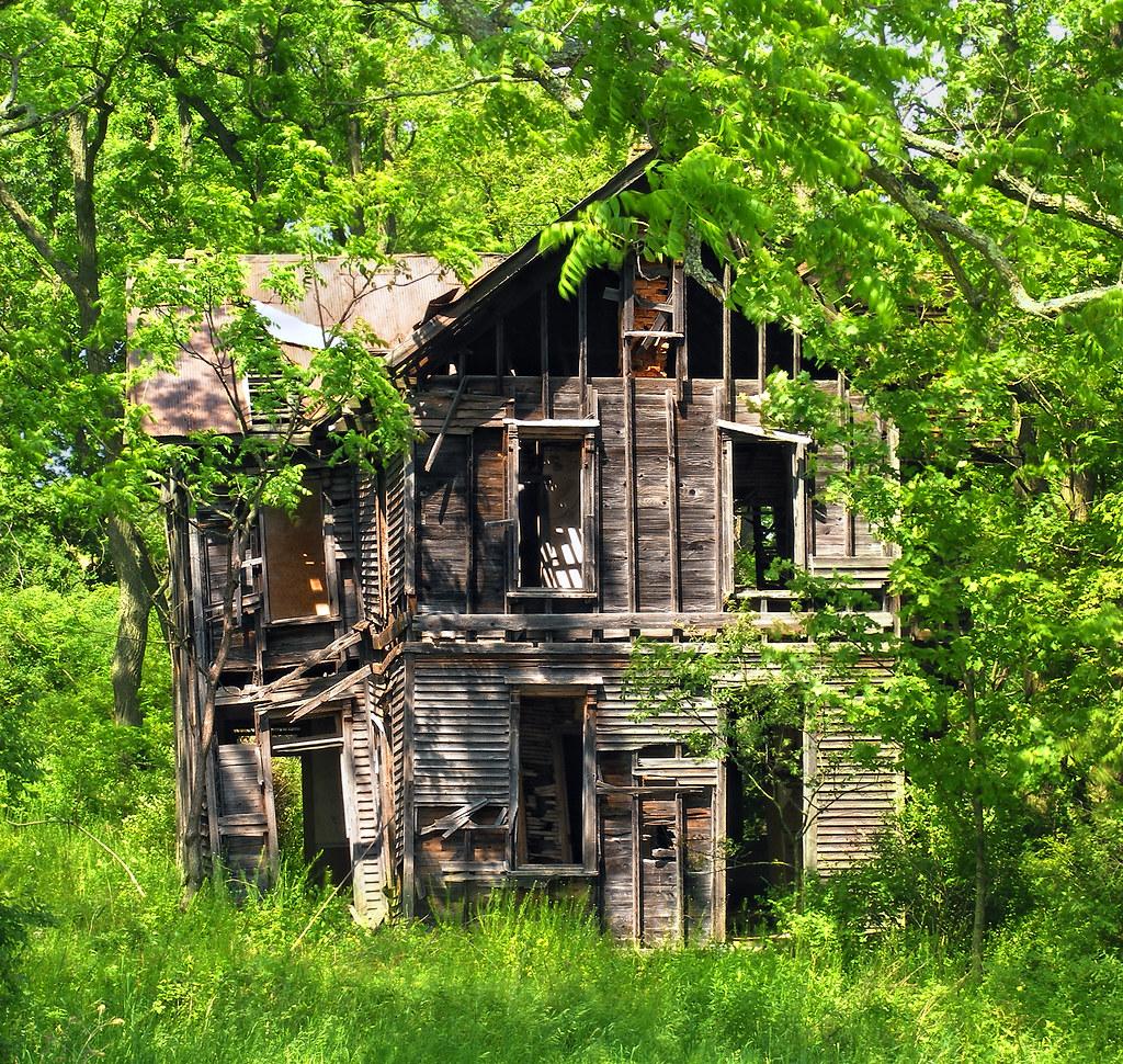 Open House Abandoned Farmhouse Benton Township