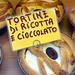 chocolate-ricotta tortine