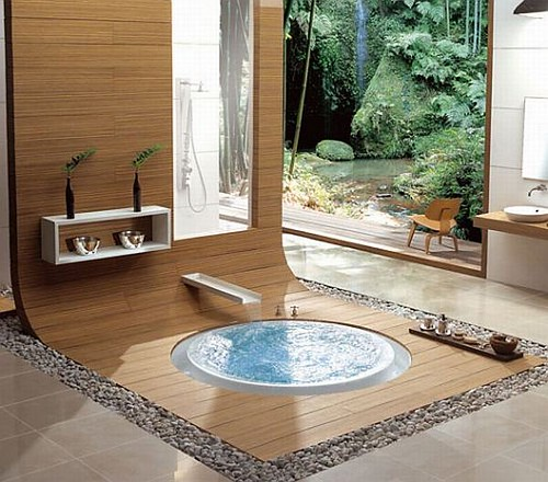 Find Inspiration For Your New Bathroom: 30 Beautiful And Relaxing Bathroom Design Ideas