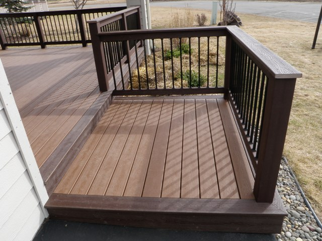 Deck design ideas trex cedar hardwood Alaskan0164 | Trex Tra… | Flickr