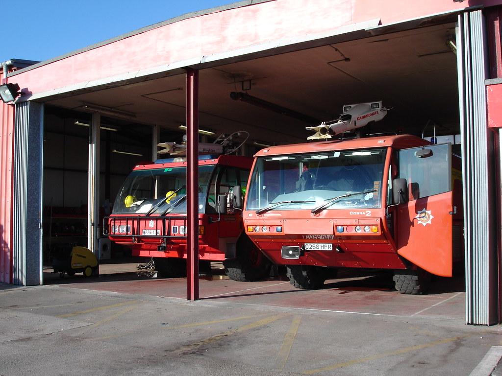 Blackpool Airport Fire Tenders
