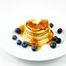 Silver Dollar Pancakes with Blueberry