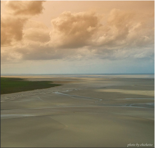 la baia di Mont Saint Michel | by chichetto