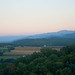 End of day over the Tiber valley