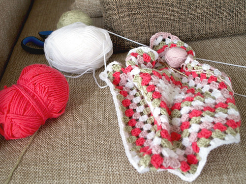 Crocheted Baby Blanket | by Ula~