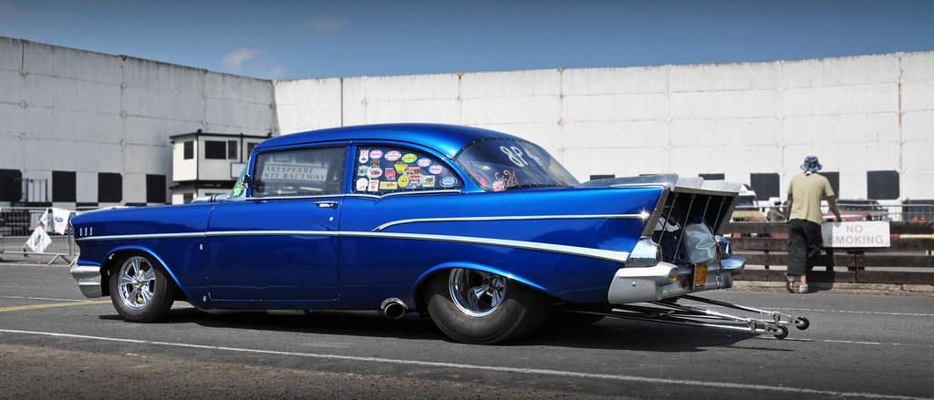 Pro Street 1957 Chevrolet Bel Air Coupe 2010 Nsra Nostal