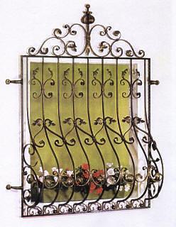 Rejas decorativas pecho de paloma estructuras realizadas - Rejas decorativas ...