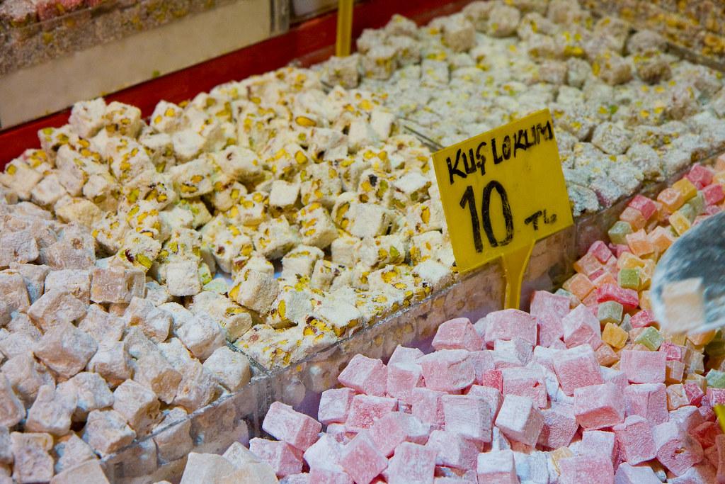 Lokum (Turkish delight), Spice Bazaar, Istanbul   Garrett Ziegler ...