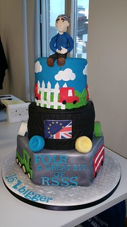 Transport themed cake | by platypus1974