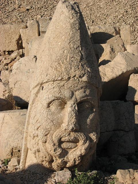 Big Stone Heads Easter Island