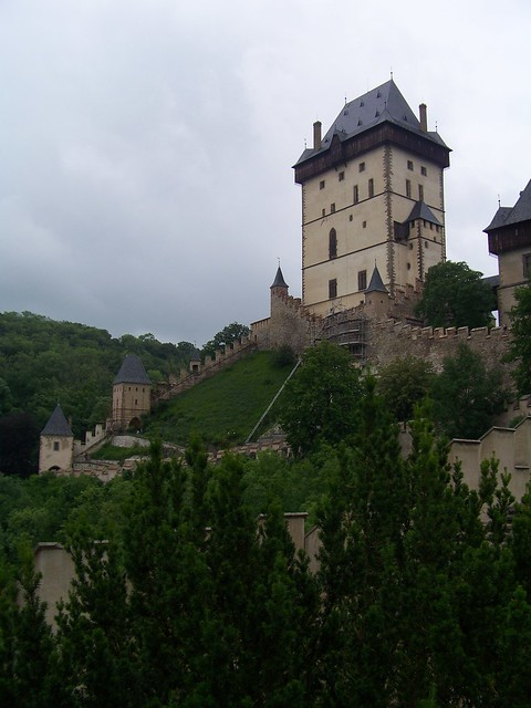 Karlštejn Castle From Rampart | Flickr - Photo Sharing!