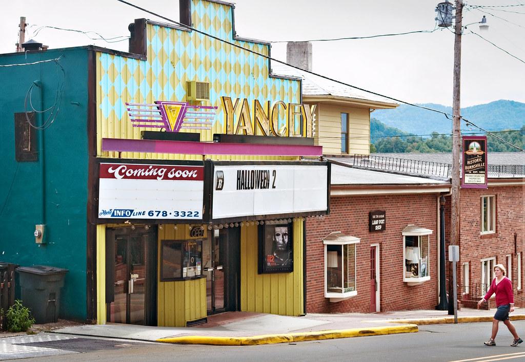 Yancey theater 1939 119 west main street burnsville n for Burnsville theater