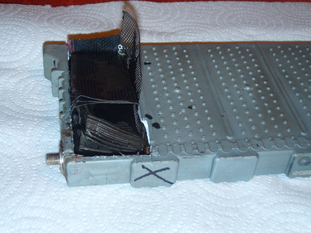 Toyota Prius Battery Module Inside A Cell Here I Ve