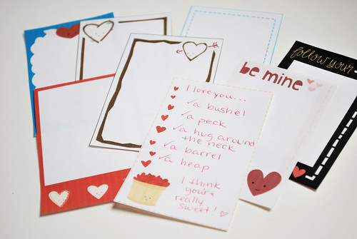 Hearts Day Journaling Cards | by wildolive