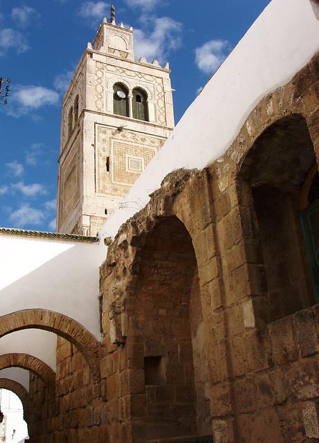 Viajar sola. Tunez. Recorriendo la Medina. Mezquita Al Ksar