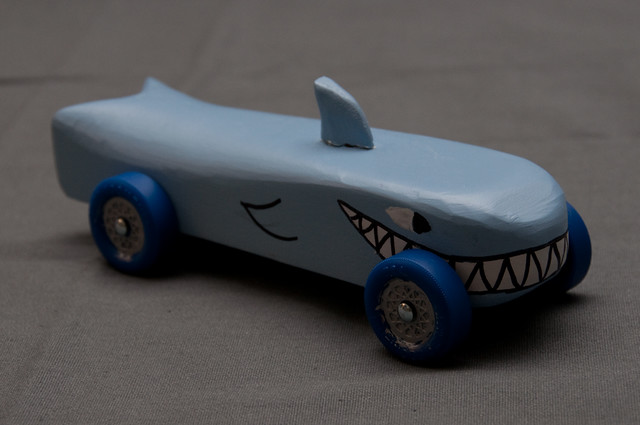 Shark Car Front Pinewood Derby Cars 2010 Kreg Steppe Flickr