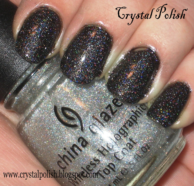 China Glaze Wireless Holographic Top Coat