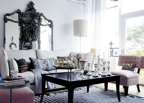 Living Room Glam Decor
