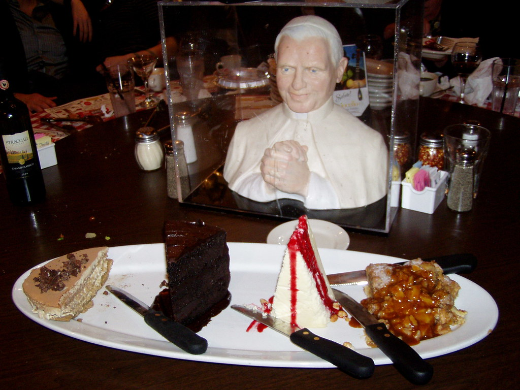 P6300077 assorted dessert 1 14 10 buca di beppo pope tab flickr - Buca di beppo pope table ...