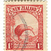 New Zealand Postage Stamp: kiwi