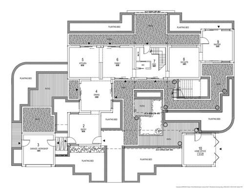 2010 dream home ground floor plan with landscape mod256 for Floor plan landscape