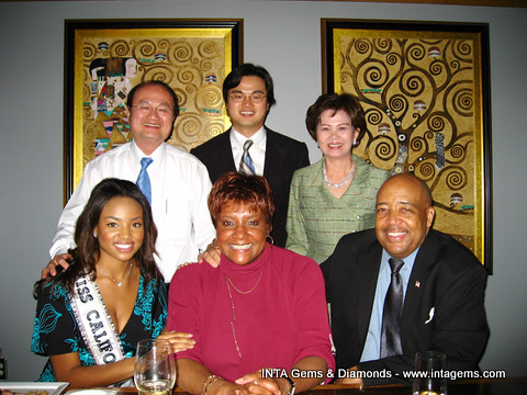 Miss California Usa 2007 Meagan Tandy And Her Parents With