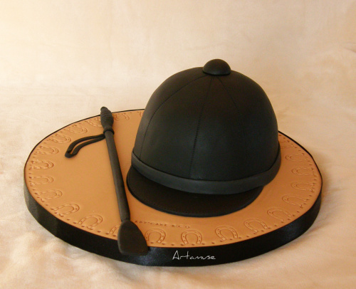 Horse Riding Hat Some Cakes Are Easy This Is One Of