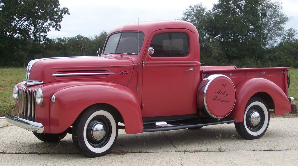"1947 Ford"" Pick up truck"" 