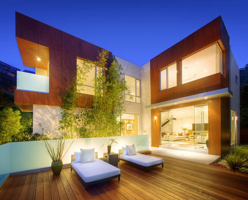 Marmont modern house los angeles - What is a contemporary home ...