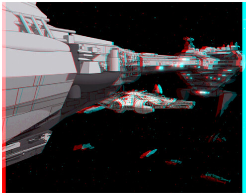 Family Guy - Empire Strikes Back (Anaglyph 3D) | Created ...