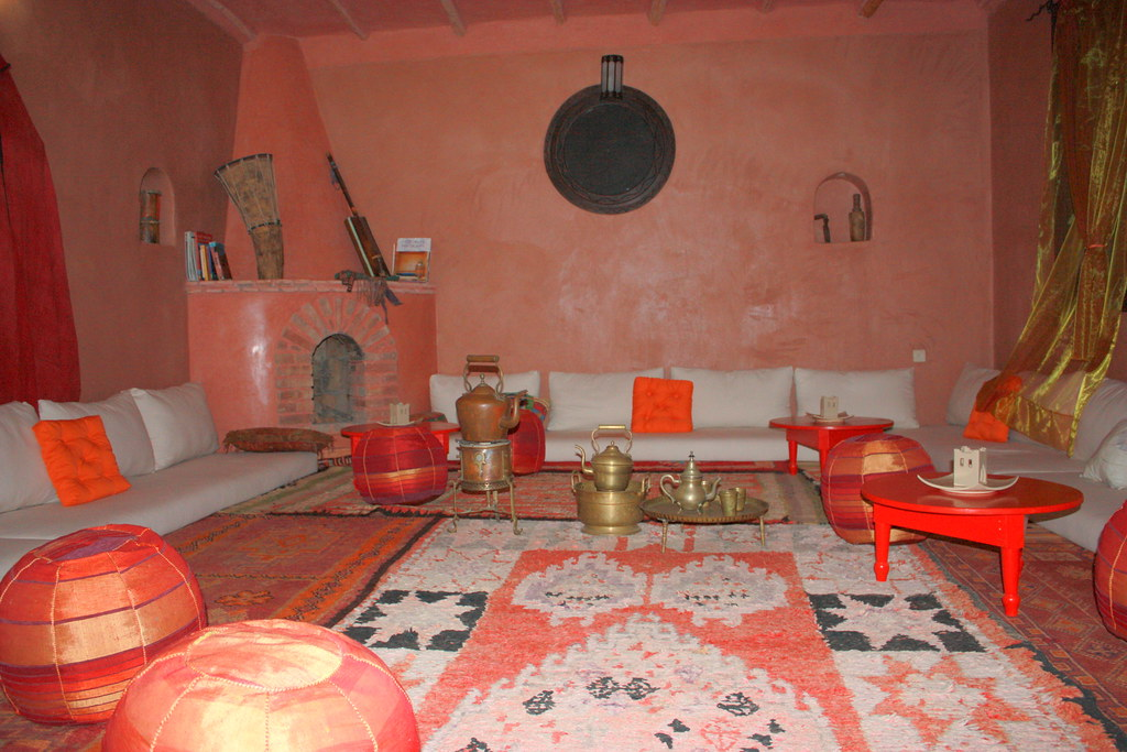 Salon marocain @ Atlas Kasbah | Salon marocain | Ludovic Capette ...