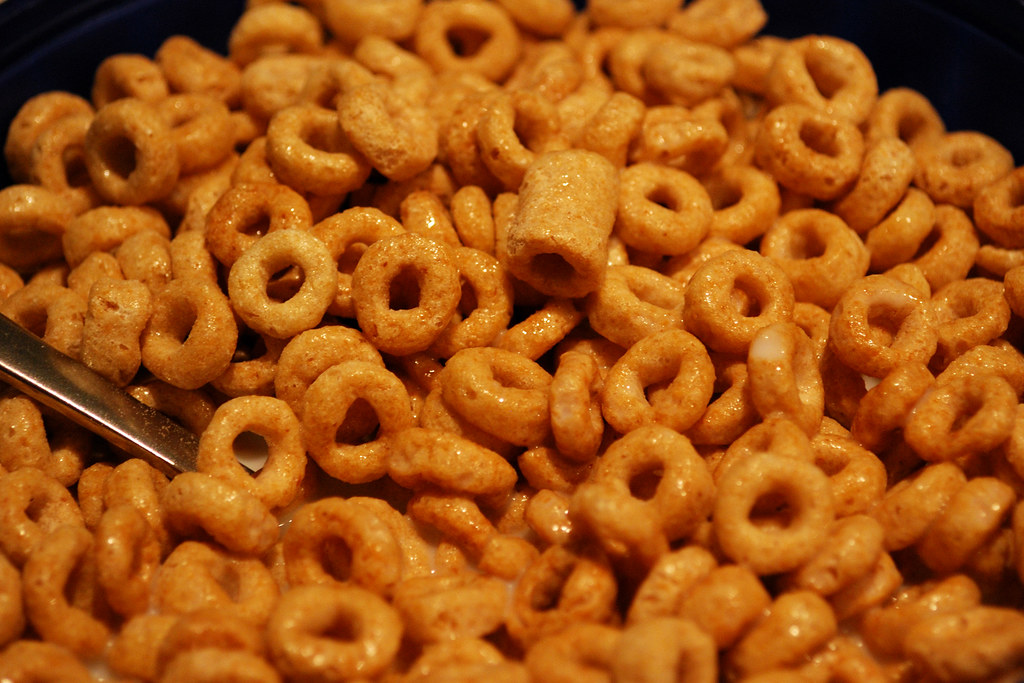 Honey Nut Cheerios | This was my bowl of Honey Nut ...