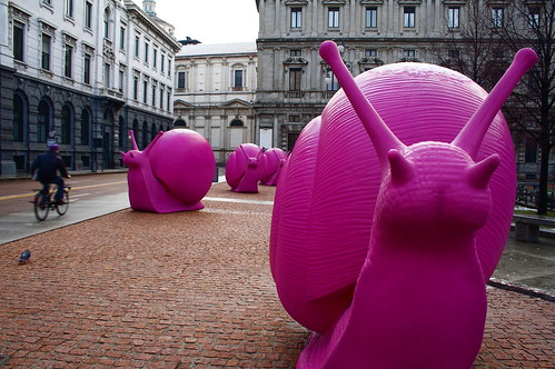 Ciao, pink snail | by CamR