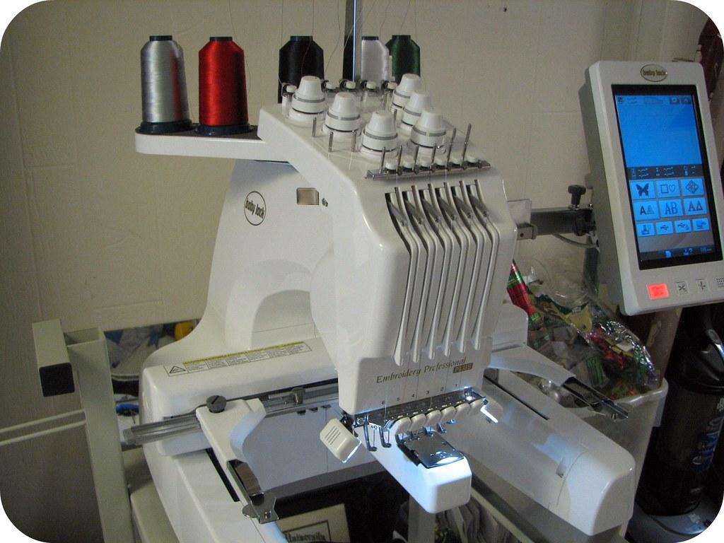 monogramming machine