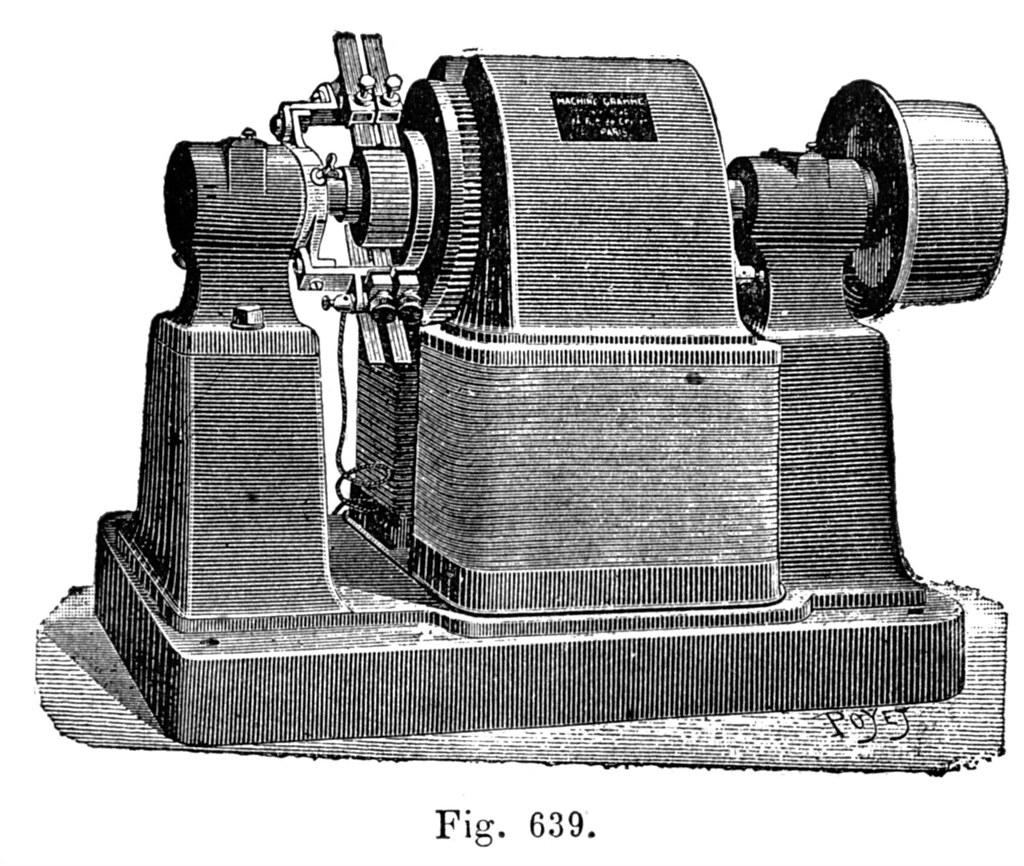 machine de gramme gravure d une machine de gramme louis p fr d ric bisson flickr. Black Bedroom Furniture Sets. Home Design Ideas